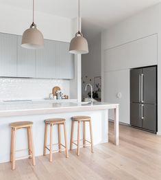 50 Best Modern Kitchen Design Ideas - The Trending House Home Decor Kitchen, Kitchen Interior, New Kitchen, Home Kitchens, Kitchen Dining, Awesome Kitchen, Skandi Kitchen, Kitchen Island, Kitchen Modern