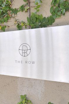 The Row flagship store on Melrose Place in Los Angeles. [Photo by Donato Sardella]
