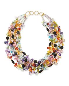 Catherine Multi-Strand Necklace