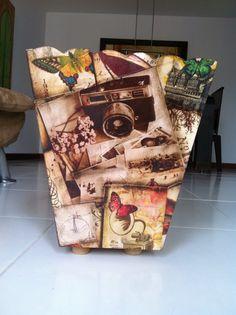 Papelera vintage $80.000