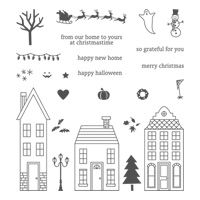 Simple Saturday: Stampin' Up! Home for the Holidays | Stampin' Pretty