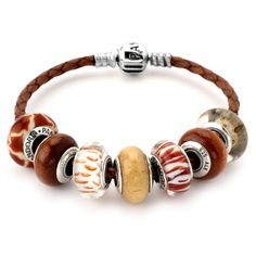 pandora braclate | Home > Pandora Finished Bracelets > Pandora Animal Instinct Bracelet ...