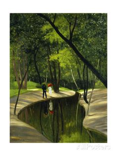 Paysage Du Boulogne, 1919 Giclee Print by Felix Edouard Vallotton at AllPosters.com