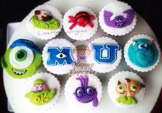 Monster University Cupcakes !