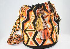 One of a Kind Nativo Style Large Happiness Wayuu by NativoStyle