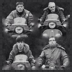 My recreation of a classic album cover by The Who! Quadrophenia