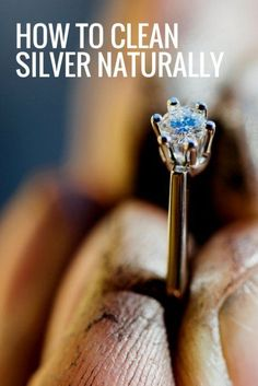 How to Clean Silver Naturally | Top Jewellery Cleaning Hacks | How To Clean Jewellery | Natural Products For Cleaning Silver