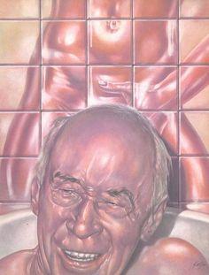 054-1ヘンリー・ミラー「ROLLING STONE」表紙AD・小島勝平1975