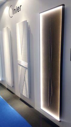New CINIER Roc radiateur avec LED Lighting.