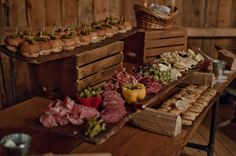 Catering: Maine food trucks | Delicious charcuterie byFire and Company | Photo by A Sweet Start