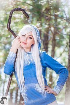 Female Jack Frost III by MeganCoffey on DeviantArt