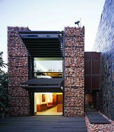 Sculptural home is a modern art form