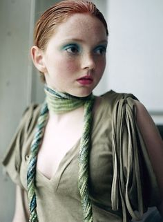 Love these colors (lily cole)