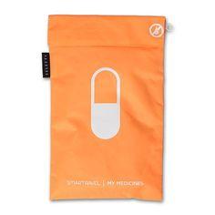 De Smarttravel my medicines bag is gemaakt van zeer sterk nylon.   Afmeting: 19.5 x 29.5 cm (bxh)