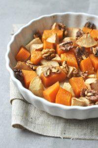 Sütőtökös-almás könnyű vacsora, gluténmentes recept Healthy Recipes, Healthy Food, Sweet Potato, Food And Drink, Potatoes, Pumpkin, Vegetables, Food Ideas, Healthy Foods