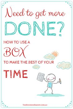 Here you GO! This little BOX is perfect for YOU if you have lots of ideas of things you **want** to do with your business but find yourself sooo busy in the day-to-day to that you never really get round to DOING them! Sound familiar?! This works for me! Maybe it will help you TOO?!