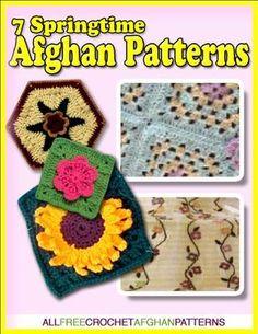 7 springtime afghans ebook