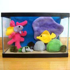 Plush aquarium number 2 by WeirdBugLady on DeviantArt