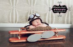 Aviator Pilot Baby Boy or Baby Girl Crochet Hat and Photography Prop Sizes Preemie, Newborn, 0-3 months, 3-6 months by BabiesBugsAndBees on Etsy https://www.etsy.com/listing/158921200/aviator-pilot-baby-boy-or-baby-girl