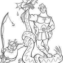 hercules coloring book pages 7 free disney printables for kids to color online - Free Disney Books Online