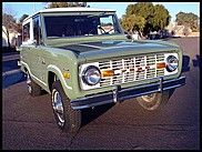 1971 Ford Bronco  $33,000