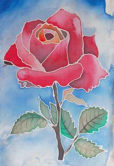 malowanie na jedwabiu kwiaty małgorzata jaskłowska Designer Bed Sheets, Fabric Paint Designs, Batik Art, Flower Sketches, Mini Paintings, Geometric Art, Elementary Art, Fabric Painting, Easy Drawings