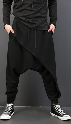 19157dd527f INCERUN Men Harem Pants Baggy Slacks Trousers Sportwear Casual Jogger Dance  Sweatpants keep you out of injury and make you more comfortable when doing  ...