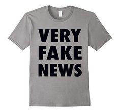Very Fake News T-Shirt   https://www.amazon.com/dp/B06ZY7BYNP/ref=cm_sw_r_pi_dp_x_bha-ybPP7YRY9 #veryfakenews #fakenews #fauxnews