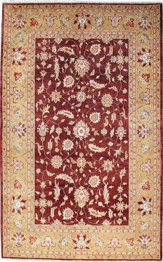 Ziegler area rug. This oriental rug has a beautiful design and bold colors. It fits perfectly in a modern or traditional decor