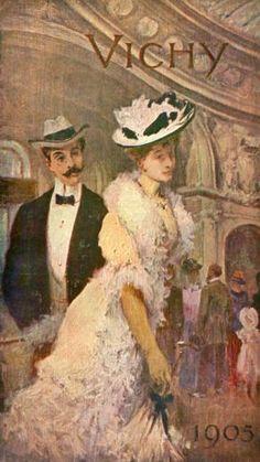 Art-Guide Vichy 1905 - Thermes Callou