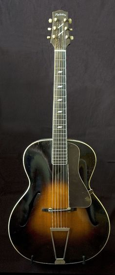 1930s Radiotone Archtop Model 7812 ( Made in pre-WWII Czechoslovakia.)