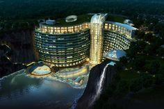 Underground resort in China
