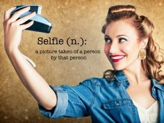 Let's change the conversation to one of self-love.  Selfies and Misogyny: The Importance of Selfies as Self-Love