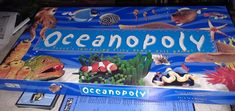 Oceanopoly Ocean-Opoly Monopoly Board Game Late for the Sky Sea Life #LatefortheSky