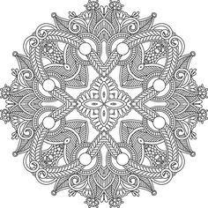 Line art mandala by e-designer on DeviantArt