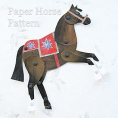 Paper Horse Pattern
