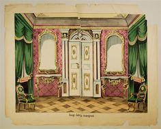 Königl. Cabinet.-Hintergrund. [Nr. 17].