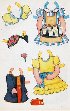 Big Sister paper dolls outfits, Origami Bears *** Paper dolls for Pinterest friends, 1500 free paper dolls at Arielle Gabriel's International Paper Doll Society, writer The Goddess of Mercy & The Dept of Miracles, publisher QuanYin5
