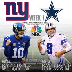 #CowboysNation #Week1 #DallasCowboys #vs #NewYorkGiants on #NBC Sunday September 13 @ 8:30pm ET @ #ATTStadium #DallasCowboysPix #DCP #DCTrueBlue #AllCowboysEverything #YayYay