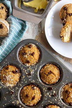 Banana Zucchini Muffins | gluten free and vegan | www.asaucykitchen.com