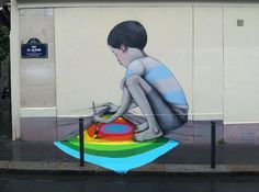 世界各地の壁を「作品」に変えるストリートアーティスト   TABI LABO