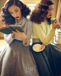 Misty Little Ladies, Vogue Girl November 2013
