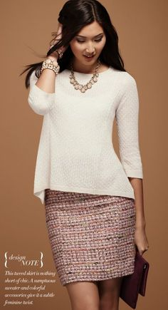 A line sweater... must have!