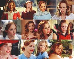 """I absolutely LOVE her , she is definitely my favorite actress . ! Especially in the """"Note Book"""" . I love her classic red hair"""