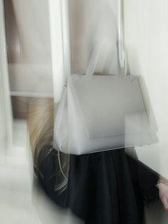 TSATSAS — ADA shoulderbag in grey natural calfskin leather. Ted Baker, Shoulder Bag, Tote Bag, Store, Natural, Grey, Womens Fashion, Leather, Bags