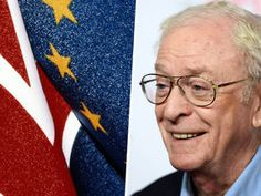 """FILM legend Sir Michael Caine today backed a British exit from the European Union as he railed against being """"dictated to by thousands of faceless civil servants""""."""
