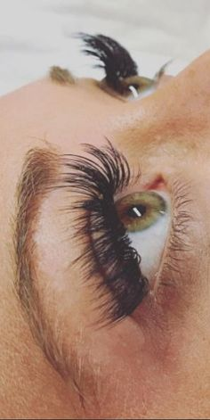 Volume lashes for the win! Don't they look fabulous? . . . #eyelashextensions #lashextensions #volumelashes #lashesandbrows