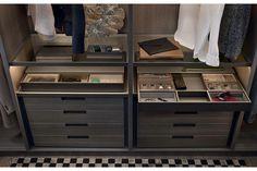 Senzafine Walk-In Closet by CR&S Poliform for Poliform