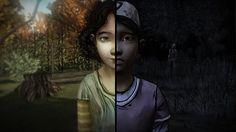 The Walking Dead game • Clementine Season 1 and Season 2