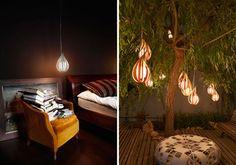 lamparas de suspensión, hermosas!